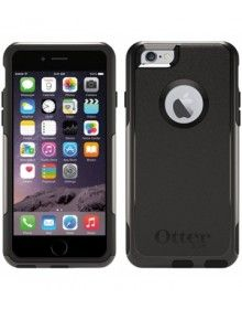 Official Otterbox Apple iPhone 6 / 6S Black Commuter Case Cover available at mobilepro.co.uk