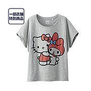 Kawaii ❤ Hello Kitty X My Melody UT  Size: S / M / L / XL Material: Cotton   http://blog.japanpersonalshopper.com/2014/03/kawaii-hello-kitty-x-my-melody-t-shirts.html