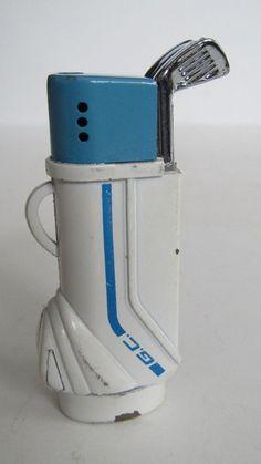 Novelty Butane Lighter In The Shape Of A Golf Bag
