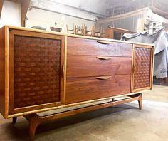 Nice Lane Perception Credenza Nearing The End Of Itu0027s Full Restore At The  @ferrousfurnishings Work Shop
