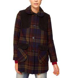 5bb647635f46 Found: Lauren Branning's (Jacqueline Jossa) Tartan Coat worn in EastEnders  [✚Click