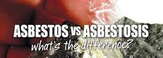Asbestosis and the respiratory distress due to asbestos