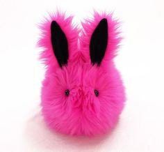Cute Stuffed Easter Bunny Stuffed Animal  Plush Toy by Fuzziggles