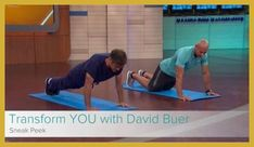 David Buer Introduces you to the FREE fitness program brought you by Dr. Oz and Sharecare. Weight Loss Goals, Weight Loss Motivation, 10 Week Workout, Workout Ideas, Fitness Models, Healthy Body Weight, Stay In Shape, Injury Prevention, No Equipment Workout
