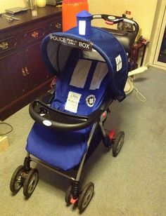 Doctor Who Tardis Stroller | Geeky Diapers Blog