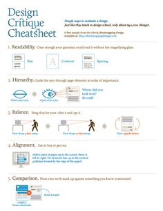 """cyberlabe: """"Design Critique Cheatsheet - Simple ways to evaluate a design. Ui Design Inspiration, Meet Local Singles, United Airlines, Dating After Divorce, Tumblr Posts, School Design, Funny Photos, Simple Way, Laughter"""