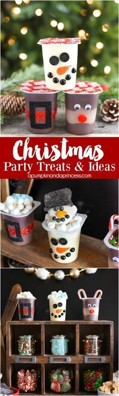 Christmas Party Ideas for Kids - Noel - christmas School Christmas Party, Preschool Christmas, Christmas Games, Noel Christmas, Christmas Activities, Christmas Goodies, Simple Christmas, Winter Christmas, Christmas Snacks