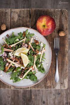 Apfel Walnuss Salat