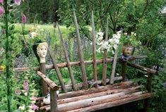 suomelan sivuilta: heinäseipäistä tehty Outdoor Plants, Gardens, Lawn And Garden, Sun Plants, Garden Plants