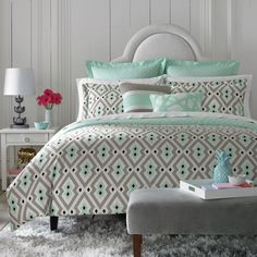 Happy Chic by Jonathan Adler Nina Reversible Duvet Cover Collection