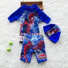 New 2017 Boys Swimsuits 3pcs/set Hat+Shirts+Trunks Children Kids Swimwear For Boys Beachwear Sports Bathing Sutis K43-CGR1