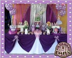 Resultado de imagen para mesa de postres de princesa sofia