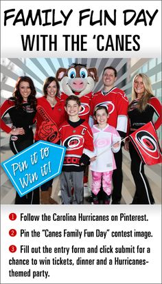 Pin for your chance to win a #Canes Family Fun Day! More details: http://m.carhur.com/0cfb