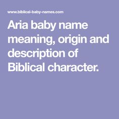 Biblical baby names with meaning of baby names, origin of baby names and description of the Biblical character. We also have an unusual baby names section and a popular baby names list. Baby Names And Meanings, Names With Meaning, The Potter's Hand, B Names, Unusual Baby Names, Popular Baby Names, Baby Name List, Meant To Be, Lily