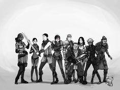 Dragon Age 2 by chakhabit on deviantART
