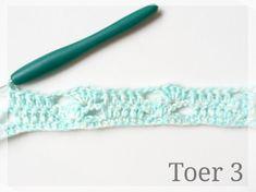Zusjeknus -Gratis haak patroon gehaakt deken 'Louisa' - Freeform Crochet, Diy Crochet, Scarf Hat, Crochet Patterns, Blanket, Knitting, Vintage, Long Scarf, Needlepoint