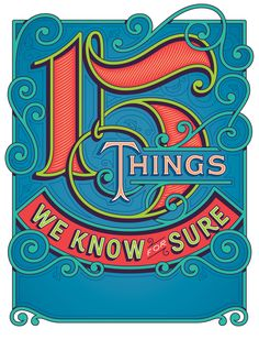 Jessica Hische - Oprah's 15 Things