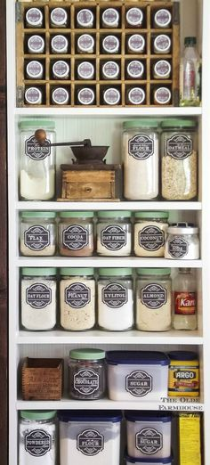 The Olde Farmhouse on Windmill Hill: Farmhouse Kitchen Phase 2 ~ DIY Pantry w/ Antique Screen Door