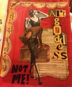 Art journal page #getmessyartjournal
