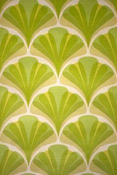Edem 038 25 jaren 70 interieur behang retro behang groen for Interieur 70 jaren