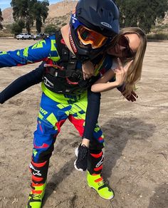 Wholesale ATV - Largest Powersports ATVs Retail Distributor 💐💘Weekend Adventures with Motorcycle? Couple Motocross, Dirt Bike Couple, Biker Couple, Motorcycle Couple, Dirt Bike Girl, Motorcycle Quotes, Cute Couples Photos, Cute Couple Pictures, Cute Couples Goals