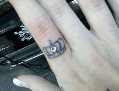 Finger piercing love this