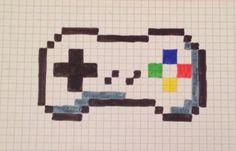 Pixel art console de jeu