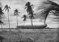 "LZ 127 ""Graf Zeppelin"", am Ankermast in Pernambuco, 1934"