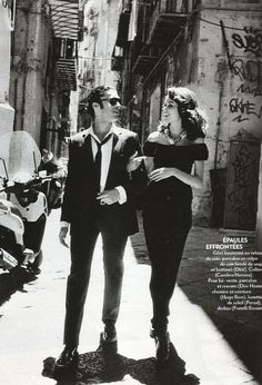 Sicilian Seduction (by thierry le goues for  Marie Claire France, Sept 2011) in the streets of Palermo