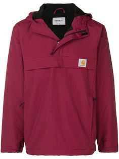 check out 1414c 89ed9 CARHARTT CARHARTT HERITAGE NIMBUS PULLOVER JACKET - RED. carhartt cloth