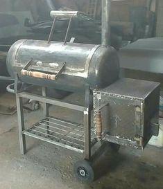 Custom Bbq Smokers, Custom Bbq Pits, Bbq Pit Smoker, Bbq Grill, Smoker Designs, Bbq Stove, Offset Smoker, Homemade Smoker, Bbq Kitchen