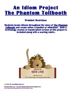 The Phantom Tollbooth - An Idiom Project $