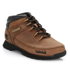 Timberland Mens Brown Euro Sprint Hiker Boots