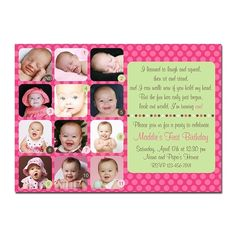 My First Year Taupe 1st Birthday Invitation 1st Bday Pinterest