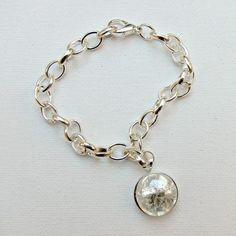 Cracked Glass Pendant