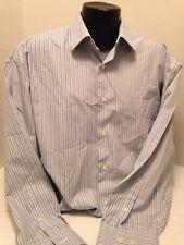 Nautica Men's Dress Shirt  - XL - Great Shirt!! 80s Two Ply Cotton - Stripes