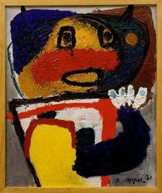 Karel appel -Exposities volgden in de Kunsthalle in Bazel, in Brussel en… Respect Images, Modern Art, Contemporary Art, Cobra Art, Amsterdam, Avant Garde Artists, Picasso Art, Dutch Painters, Aboriginal Art