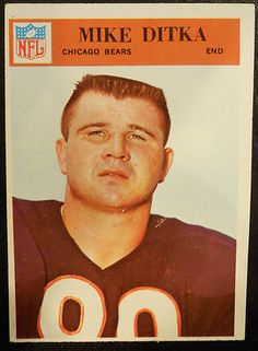 1966 Mike Ditka Chicago Bears