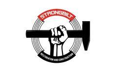 round logo design for Strongbuilt restorationand construction by thelogoboutique.com Round Logo Design, Construction, Building