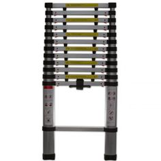 Shop a great selection of Telescopic ft Aluminum Extension Ladder 330 lb. Find new offer and Similar products for Telescopic ft Aluminum Extension Ladder 330 lb. Metal Step Stool, Step Stools, Aluminium Ladder, Multi Purpose Ladder, Best Ladder, Rolling Ladder, Wood Steps