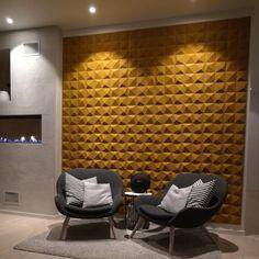 Lydabsorbent til vegg i dekorativ kork med tekstur Cnc, Cork Wall, Home Decor Accessories, My Design, Interior Design, Creative, Table, Inspiration, Furniture