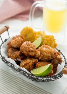 Chicharrón de Pollo Recipe (Crispy Deep-Fried Chicken)