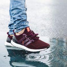 Burgundy Ultra Boost. || Follow @filetlondon for more street wear #filetlondon