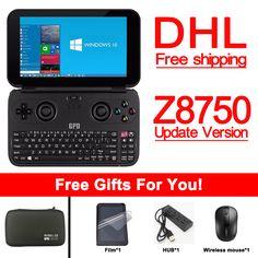Nuova versione Originale GPD Win Gamepad Tablet PC Palmare Console di Gioco X7 Z8750 Bluetooth di Windows 4.1 4 GB/64 GB Gamepad Game Player