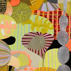 Abstact 101 by Sarajo Frieden, Love the colors!