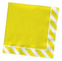 Party Partners Design Pattern Cocktail Napkins, Yellow Stripe Party Partners Design http://www.amazon.com/dp/B00HZHUDYO/ref=cm_sw_r_pi_dp_zxgdvb1J2GAD4
