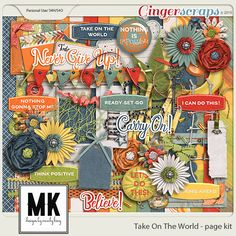 Take On The World Page Kit