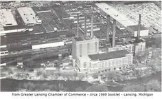 https://flic.kr/p/BFfy1Y | Eckert Power Plant and Oldsmobile plant-at Moores Park-from circa 1969 booklet-Lansing, MI | EPSON MFP image