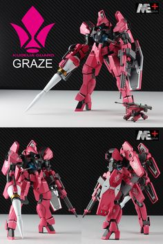 HG 1/144 GRAZE [KUDELIA GUARD]改造塗装済完成品 - ヤフオク!