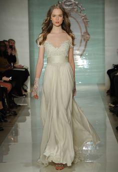 Reem Acra Spring 2015 Wedding Dresses - The Knot Blog